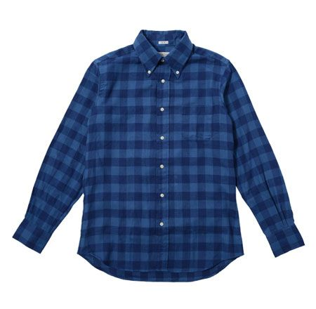 ボタンダウン バッファロー チェックシャツ