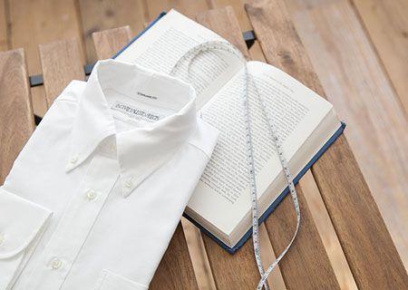 世界に1枚だけ。自分だけのシャツが作れる!