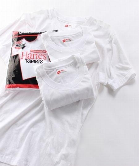 Tシャツの定番、『ヘインズ』のパックTシャツ 2枚目の画像