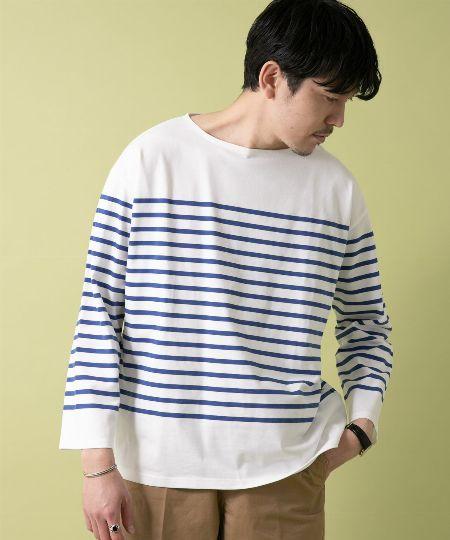 『アーバンリサーチ ロッソ』フレンチボーダーバスクTシャツ