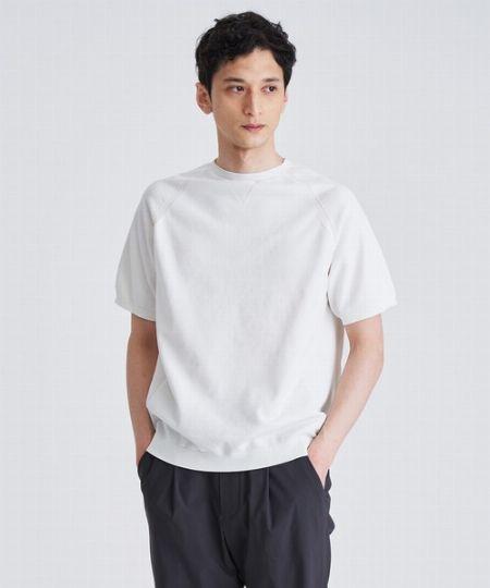 『ステュディオス』ウォッシャブルミラノリブサマーニットTシャツ