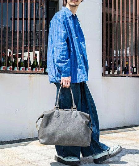 旅行や出張時に重宝するボストンバッグ