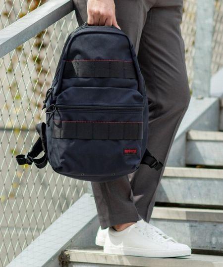 ビジネスバッグで人気の『ブリーフィング』は、リュックも一級品