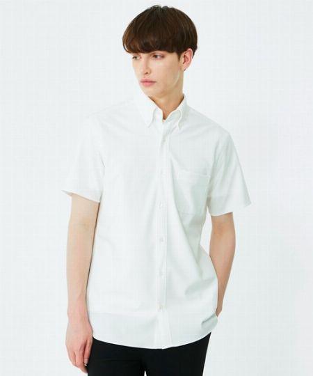 『ユナイテッドトウキョウ』オックスボタンダウンショートスリーブシャツ
