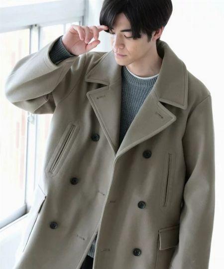 大人コーデの強い味方。定番のピーコート(Pコート)が1着あるとかなり使えます!