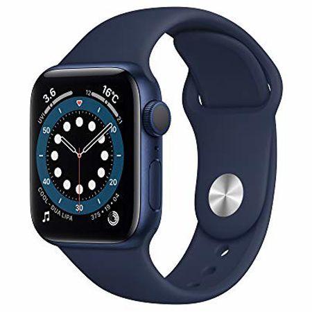 『Apple』Apple Watch シリーズ6 ディープネイビー