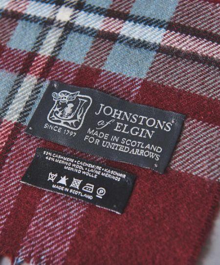 世界中で評価の高い、スコットランドの老舗ブランド『ジョンストンズ』