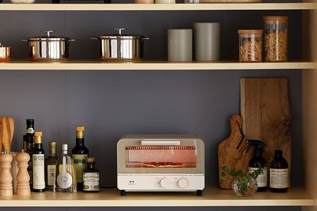 機能もデザイン性も備えたキッチン家電が人気!