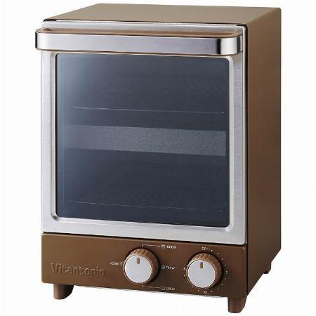 一人暮らしでも置き場に困らない『ビタントニオ』のオーブントースター