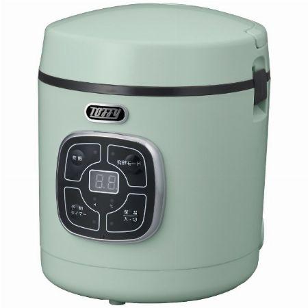 着脱式電源コードでそのまま食卓に並べられる『トフィー』のマイコン炊飯器