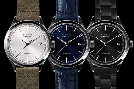 『ノット』初の高品質な機械式腕時計「AT-38」は見逃せない