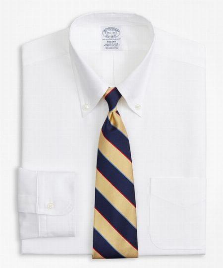 スーピマコットン オックスフォード ポロボタンダウン ドレスシャツ(ニュー・リージェントフィット)