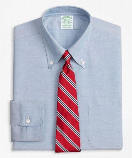 スーピマコットン オックスフォード ポロボタンダウン ドレスシャツ(ニュー・ミラノフィット)