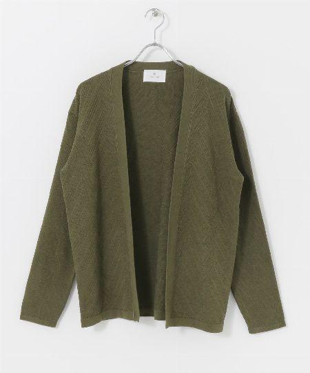 『インディビジュアライズドシャツ』別注 リネン バンドカラーシャツ