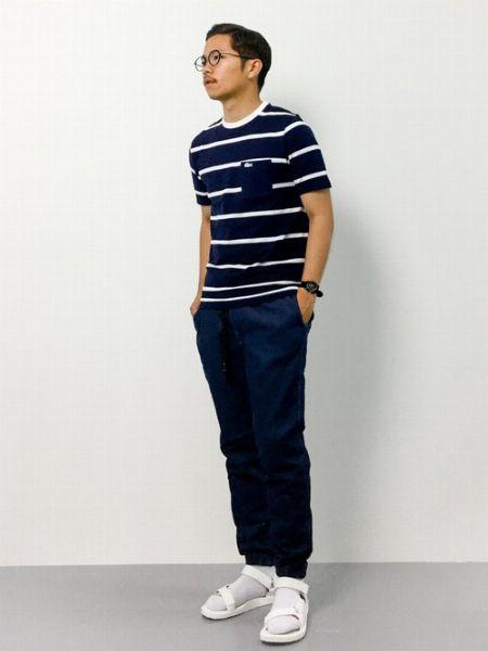 スポサン×靴下のおしゃれなコーデサンプル 5枚目の画像