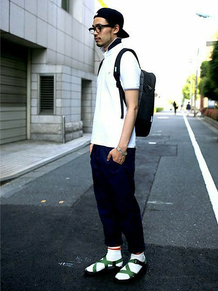 スポサン×靴下のおしゃれなコーデサンプル 8枚目の画像