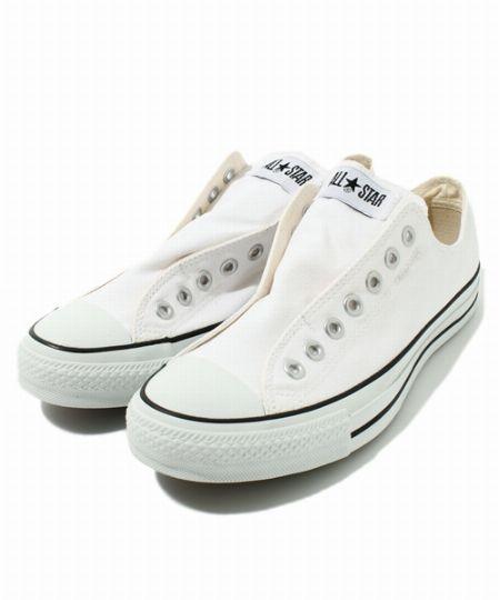 『コンバース』オールスタースリップ 3 OX ホワイト