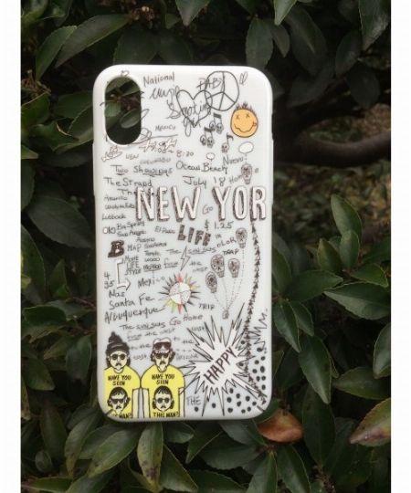 『レミ レリーフ』別注 iPhoneXケース(ニューヨーク)