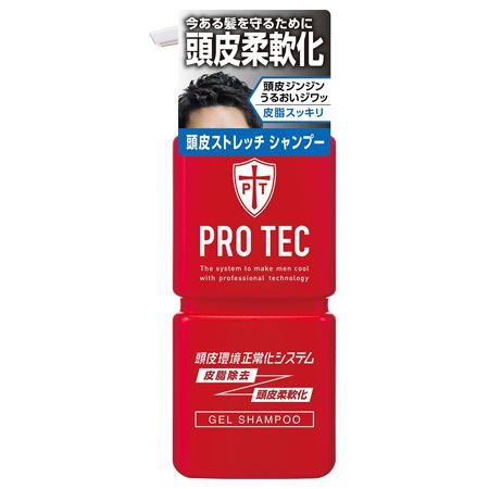 『プロテク』頭皮ストレッチ シャンプー