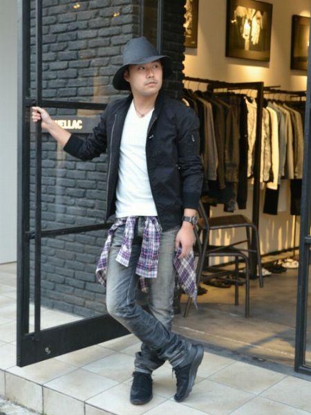 ▼参考になる! 太めメンズのストリートファッション着こなし集 3枚目の画像