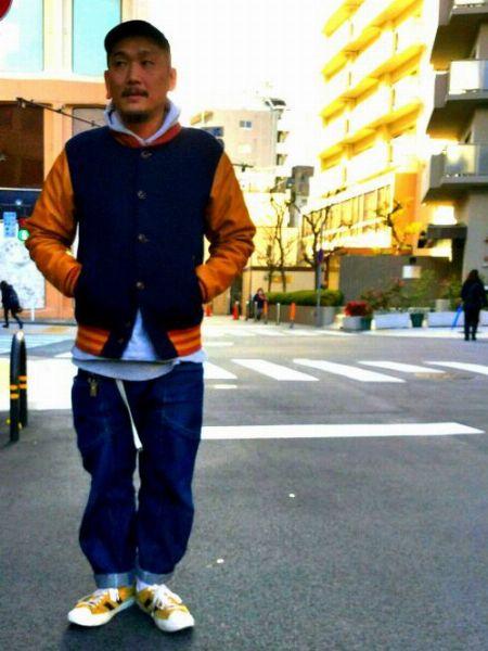 ▼参考になる! 太めメンズのストリートファッション着こなし集 5枚目の画像