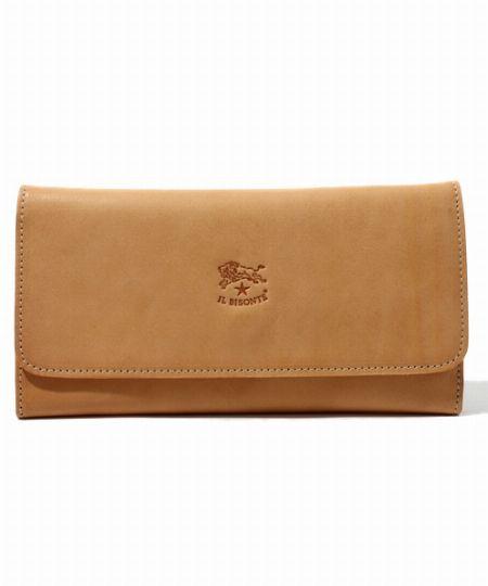 品のある見た目とのギャップがうれしい大容量財布