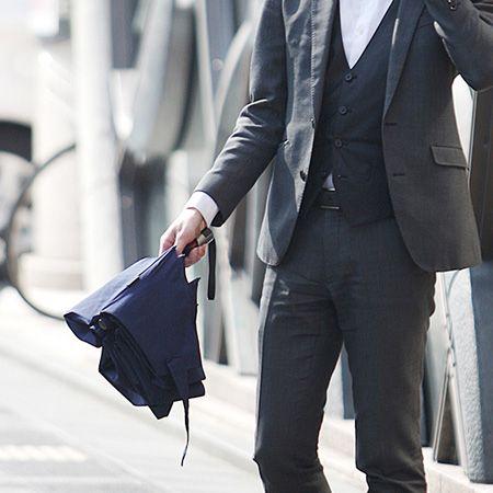 ビジネスシーンにも好相性。おしゃれな折りたたみ傘ブランド10選