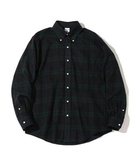 『ビッグマック』×『フリークスストア』ビッグシルエットチェックシャツ