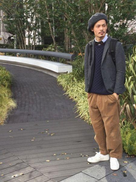 ▼ボウタイ×カジュアルコーデ編