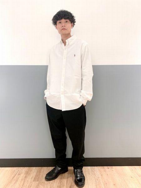 カジュアルなジャケットスタイルのインナーに最適