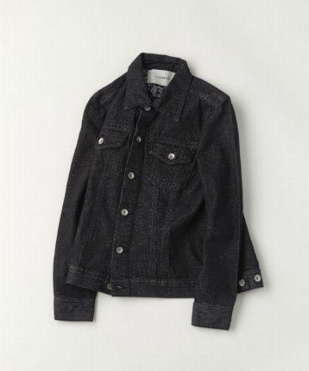 タイプ3:ブラックデニムジャケット