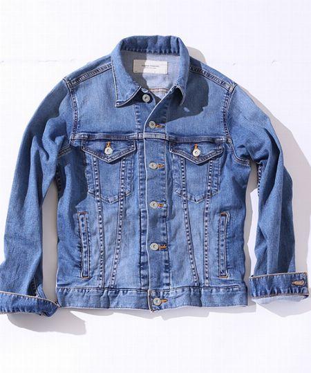 タイプ2:薄色デニムジャケット