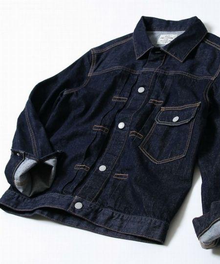 タイプ1:濃紺デニムジャケット