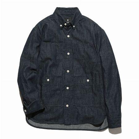 『ロエフ』インディゴ ダンガリー レギュラーシャツ