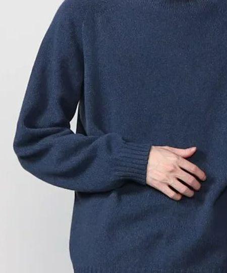▼冬ニットの代表素材。ウールなら保温性抜群