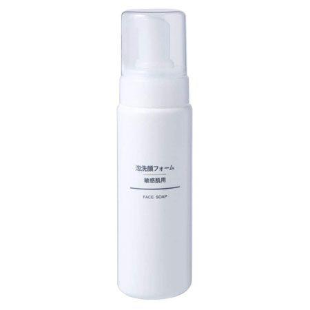 『無印良品』泡洗顔フォーム・敏感肌用