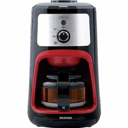 豆から挽いて楽しむミル式コーヒーメーカー