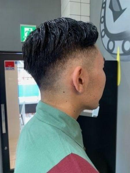 バーバースタイルって、こんな髪型です