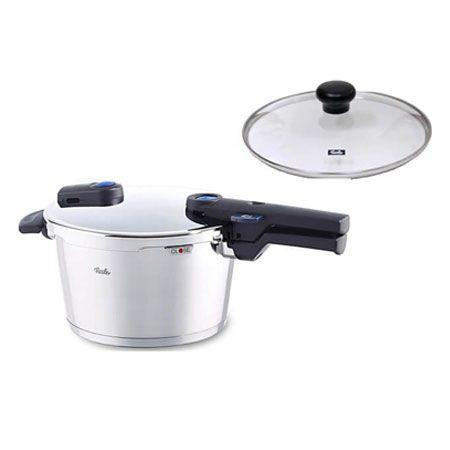 これ1つで炊飯も煮込み料理も。『フィスラー』ビタクイック プラス圧力鍋4.5L