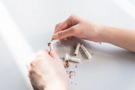 やめられないたばこやコーヒーは、○○で対応