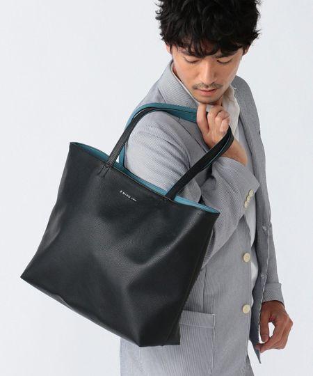 オン・オフに合うバッグが欲しいなら、レザートートバッグが最適