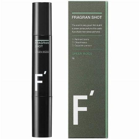 『エフダッシュ』フレグランショット グリーンウッドの香り