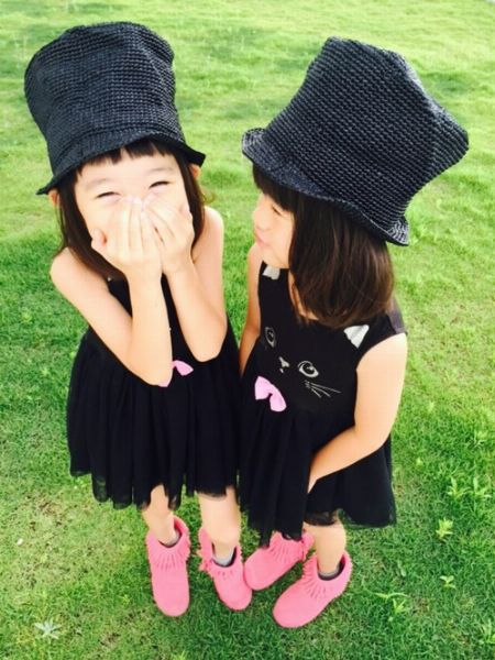 大注目の双子ちゃん(ひよ。こは。ちゃん)