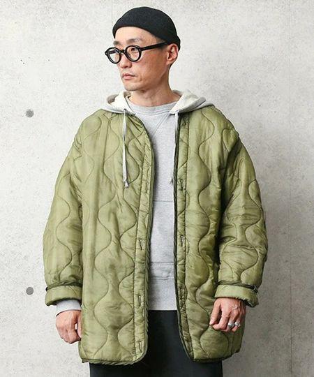 『ジャーナルスタンダード』M65 カラーライナー キルティングジャケット