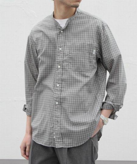 T/Cチェックシャツ