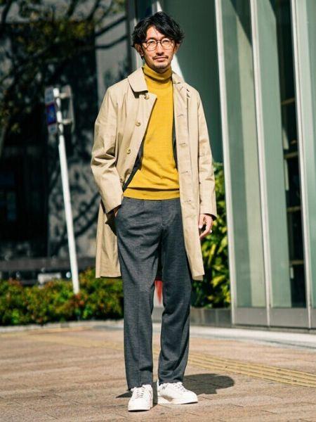 「ステンカラーコートはダサい」。それは選び方と着こなし方に難アリ 2枚目の画像