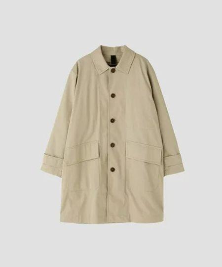 『アダム エ ロペ』オーバーサイズ ステンカラーコート