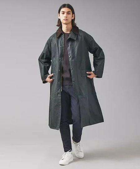 『カルーゾ』リバーシブル バルカラーコート