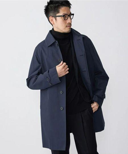 『シップス』多機能 オルメテックス ステンカラー コート