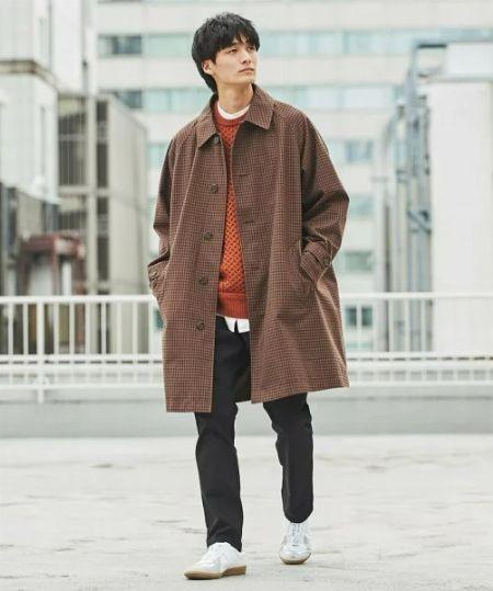 ステンカラーコートとは 2枚目の画像